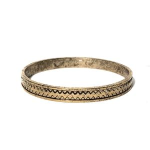 Low Luv x Erin Wasson Zig Zag Bangle